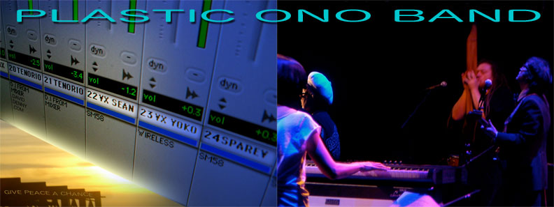 Plastic Ono Band Live at Fox Theater Oakland, recorded by David Denny Pro Tools Engineer